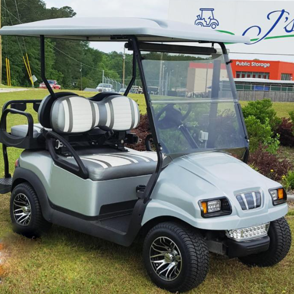 gray golf cart for sale