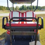 Used Cart Red-White-Back