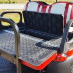 Used Cart Red-White-Storage