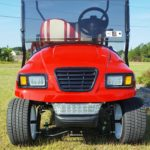 Used Cart Red-White-Front