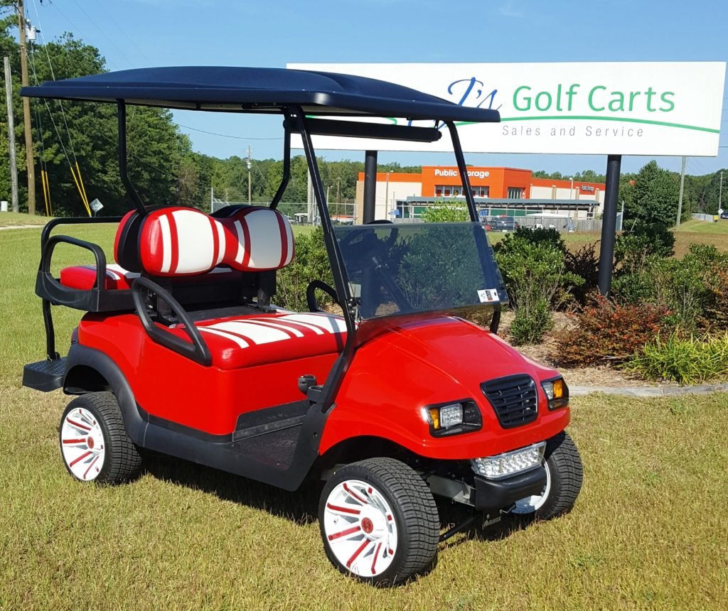 Used Cart Red-White
