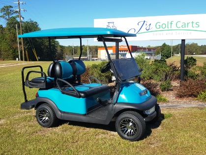 Teal Golf Cart For Sale