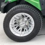 Lime Golf Ready Cart for Sale Wheels