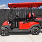 Red Golf Cart Side