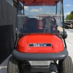 Red Golf Cart Front