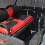 Red Golf Cart Rear Seats