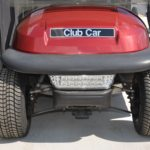 Burgundy Golf Cart for Sale Light Bar
