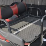 Burgundy Golf Cart for Sale Cargo Area