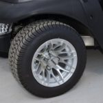 Graphite Golf Ready Cart Deluxe Wheels