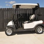 Pearl White Golf Cart SIde
