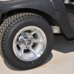 Pearl White Golf Cart Wheels