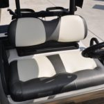 Pearl White Golf Cart Seats
