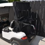Pearl White Golf Cart Rain Cover