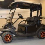 Black Golf Ready Cart for Sale Main