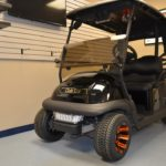 Black Golf Ready Cart for Sale Front
