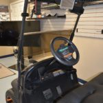 Black Golf Ready Cart for Sale Driver