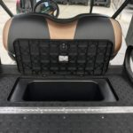 Camo Lifted Golf Cart for Sale Storage