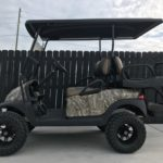 Camo Lifted Golf Cart for Sale Main