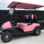 Pink Golf Cart for Sale Main