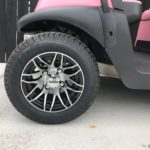 Pink Golf Cart for Sale Wheel