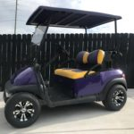 Purple Golf Cart for Sale Main