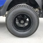 Blue Lifted Golf Cart for Sale Wheel