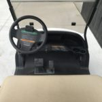 Maroon Golf Cart for Sale Dash