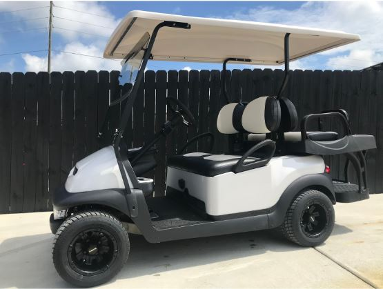 J's Golf Carts White Golf Cart For Sale