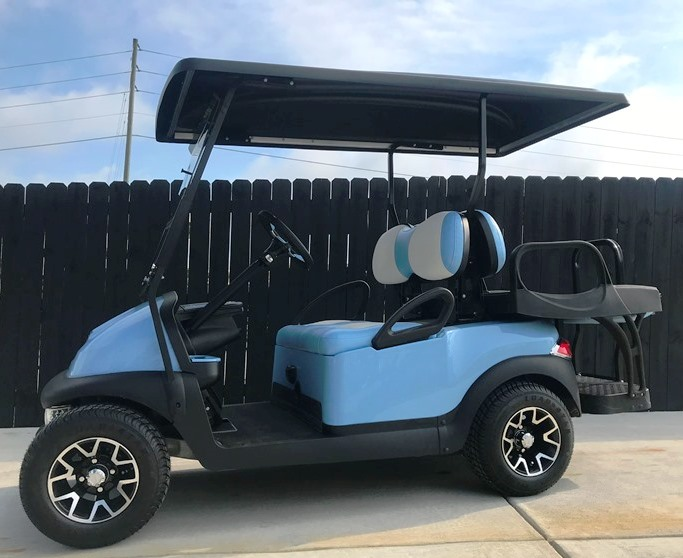 Used Blue Cart For Sale