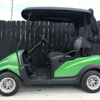 Lime Golf Ready Cart for Sale Main