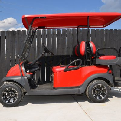 Red Custom Golf Cart for Sale Main